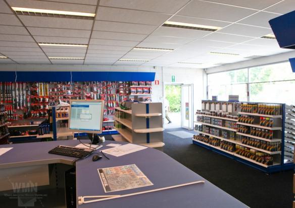 Brezan Automaterialen België, diverse filialen 2017